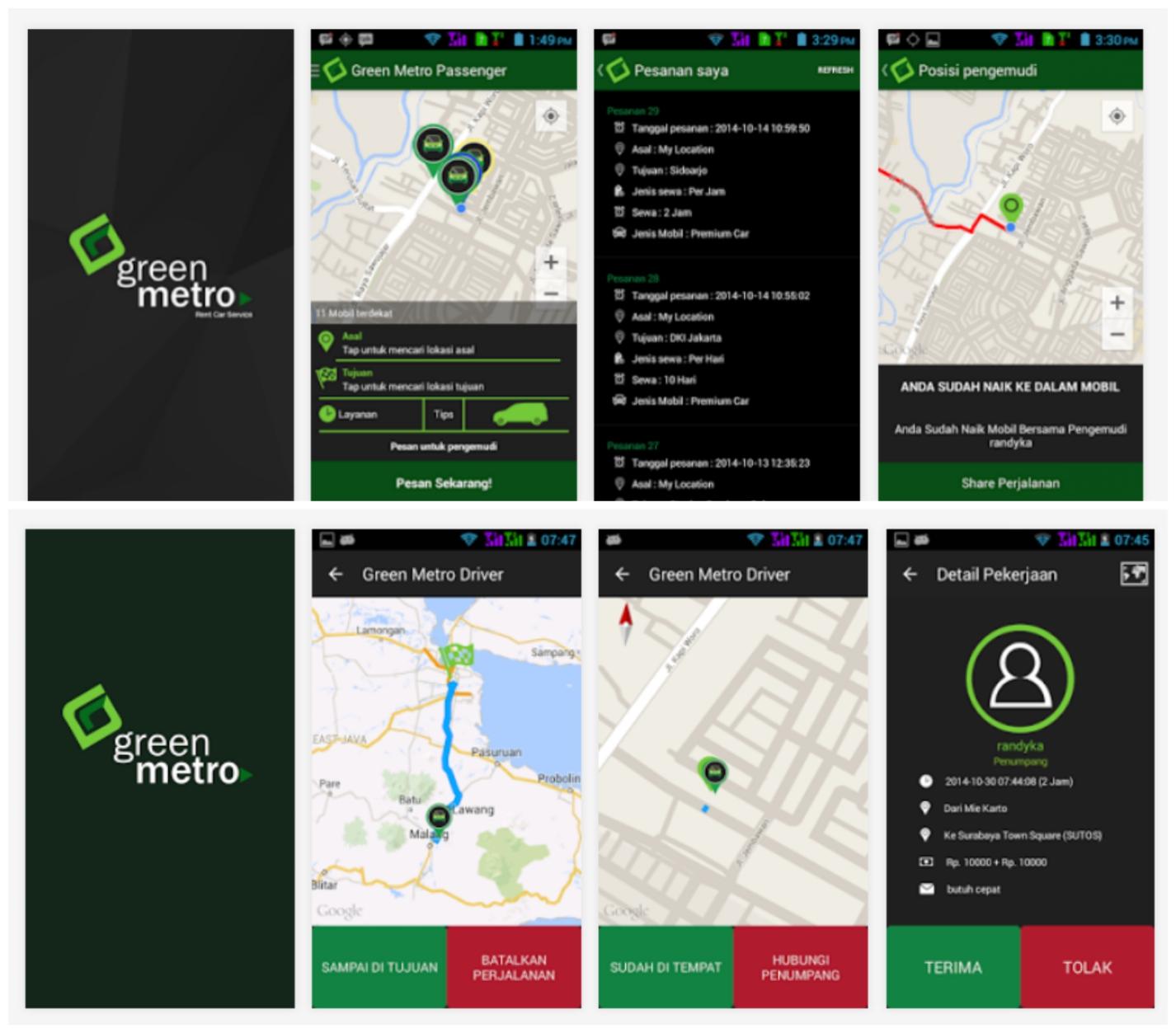 9 Hari 9 Tujuan, Tantangan City Tour Bareng Green Metro Car di