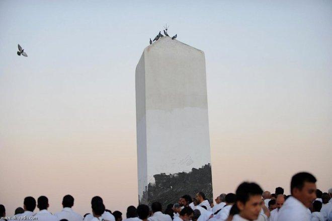 Menanti Zulhijah di Puncak Arafah [Hak Milik Foto: Al Riyadh]