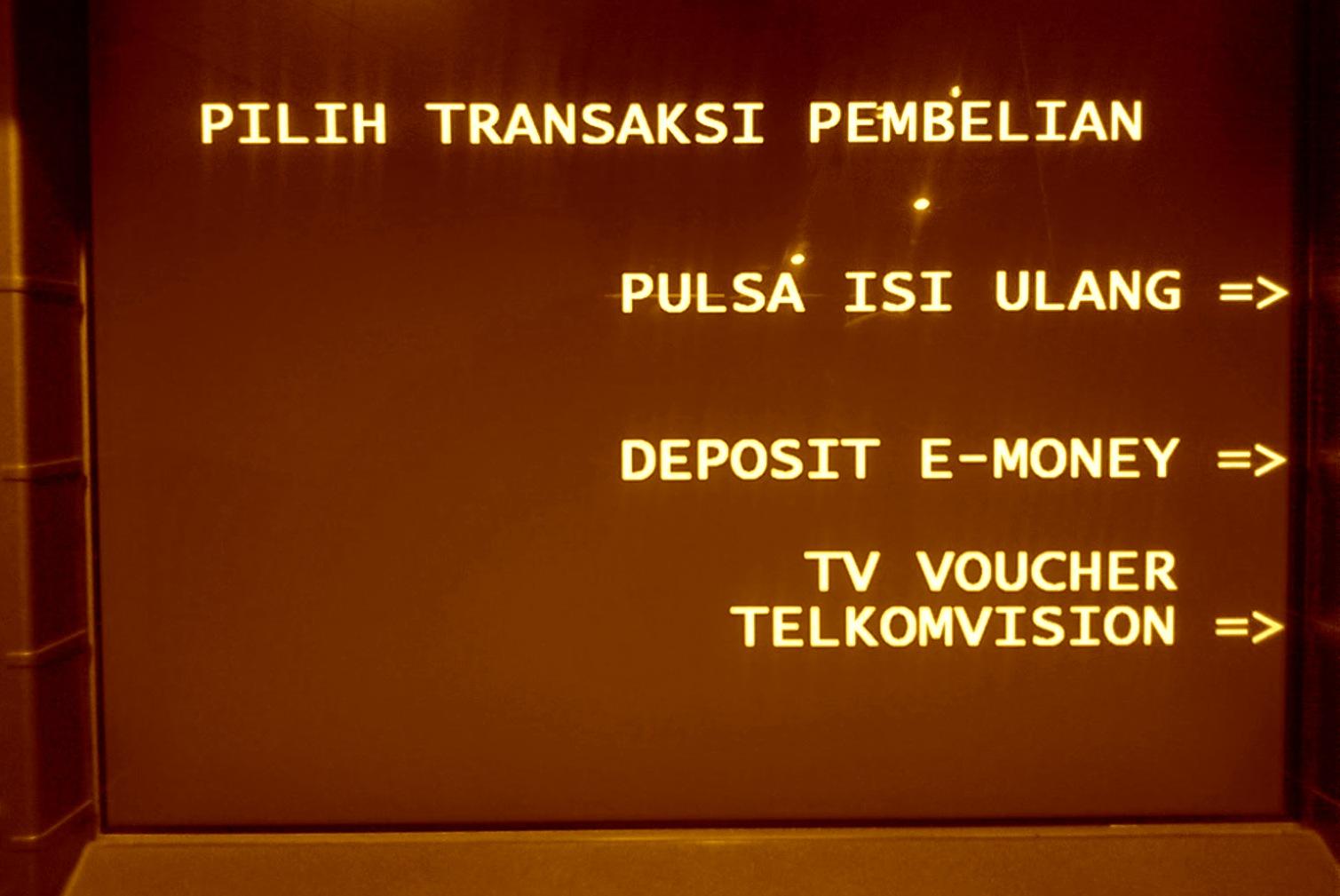 Herannya, sebagian teman KKN baru tahu kalau ATM bisa digunakan untuk ...