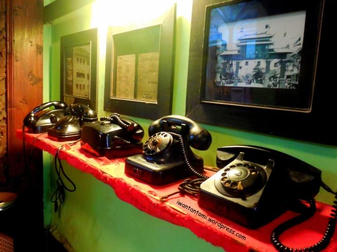 Telepon kuno bernomor putar