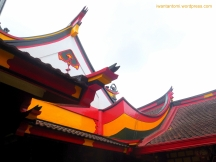 Atap khas Eng An Kiong