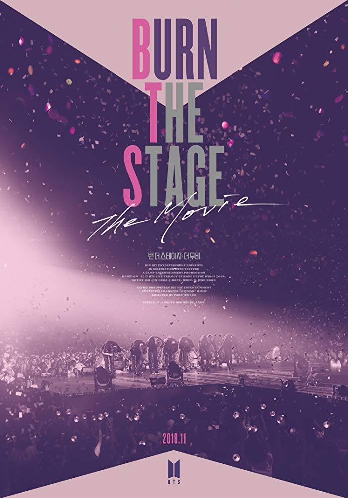 Poster Burn The Stage The Movie © Big Hit Entertainment