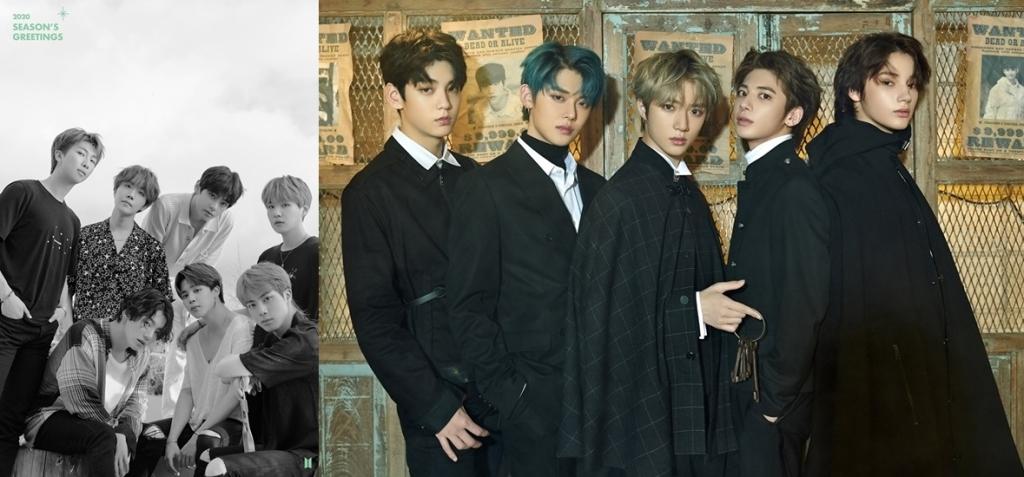 BTS dan TXT Kompak Bertengger di Billboard World Digital Song Sales hingga Rilis Season's Greeting 2020 Bersamaan © Big Hit Entertainment