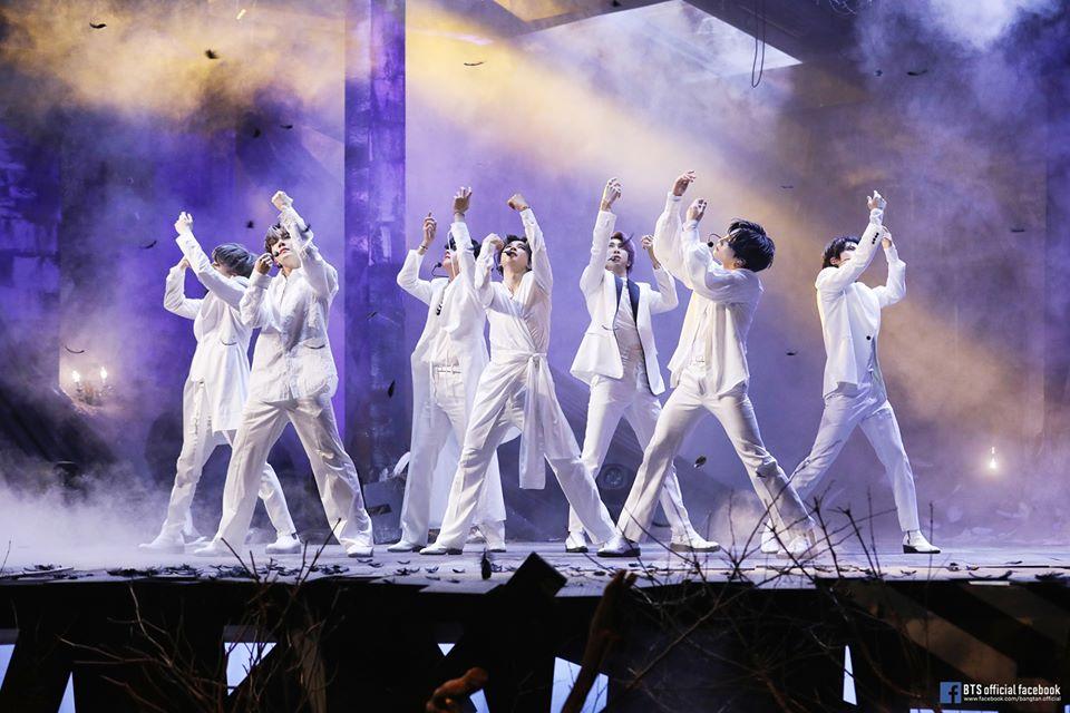 BTS Rajai Tangga Album Resmi di 20 Negara dengan Map of The Soul: 7, Ada Indonesia?